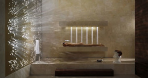 Horizontal Shower la doccia di Dornbracht