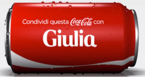 Condividi una Coca Cola