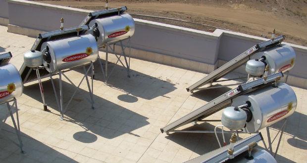 Come funzionano i  pannelli solari a circolazione naturale
