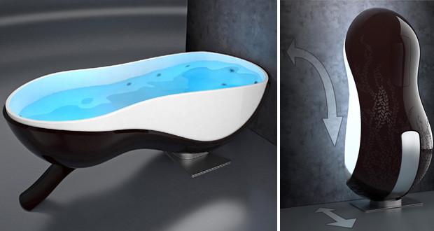 Spacer la vasca che scompare