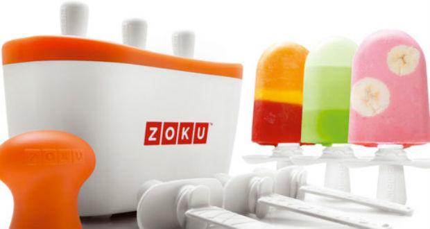 Solo con Zoku ghiaccioli e granite in 7 minuti