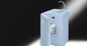LBL14 RO la lavabiancheria con lavello della Smeg