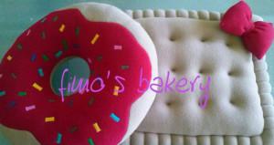 I golosi cuscini della Fimo's Bakery