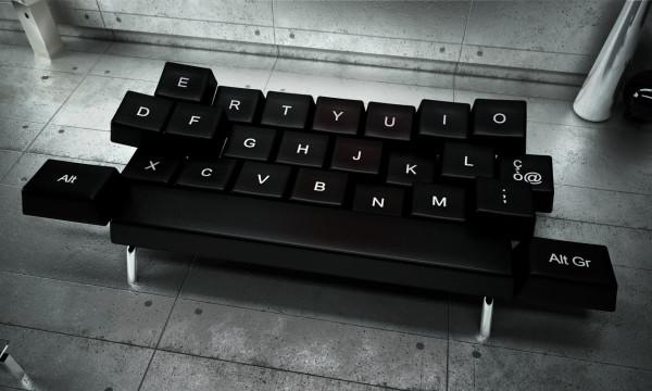 Qwerty la tastiera sof blog interior design idro 80 - Tastiera del letto ...