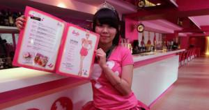 Il primo bar- ristorante di Barbie a Taipei