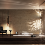 Bossini presenta al Salone Internazionale del Mobile 2014 Eikon Touch Water Control